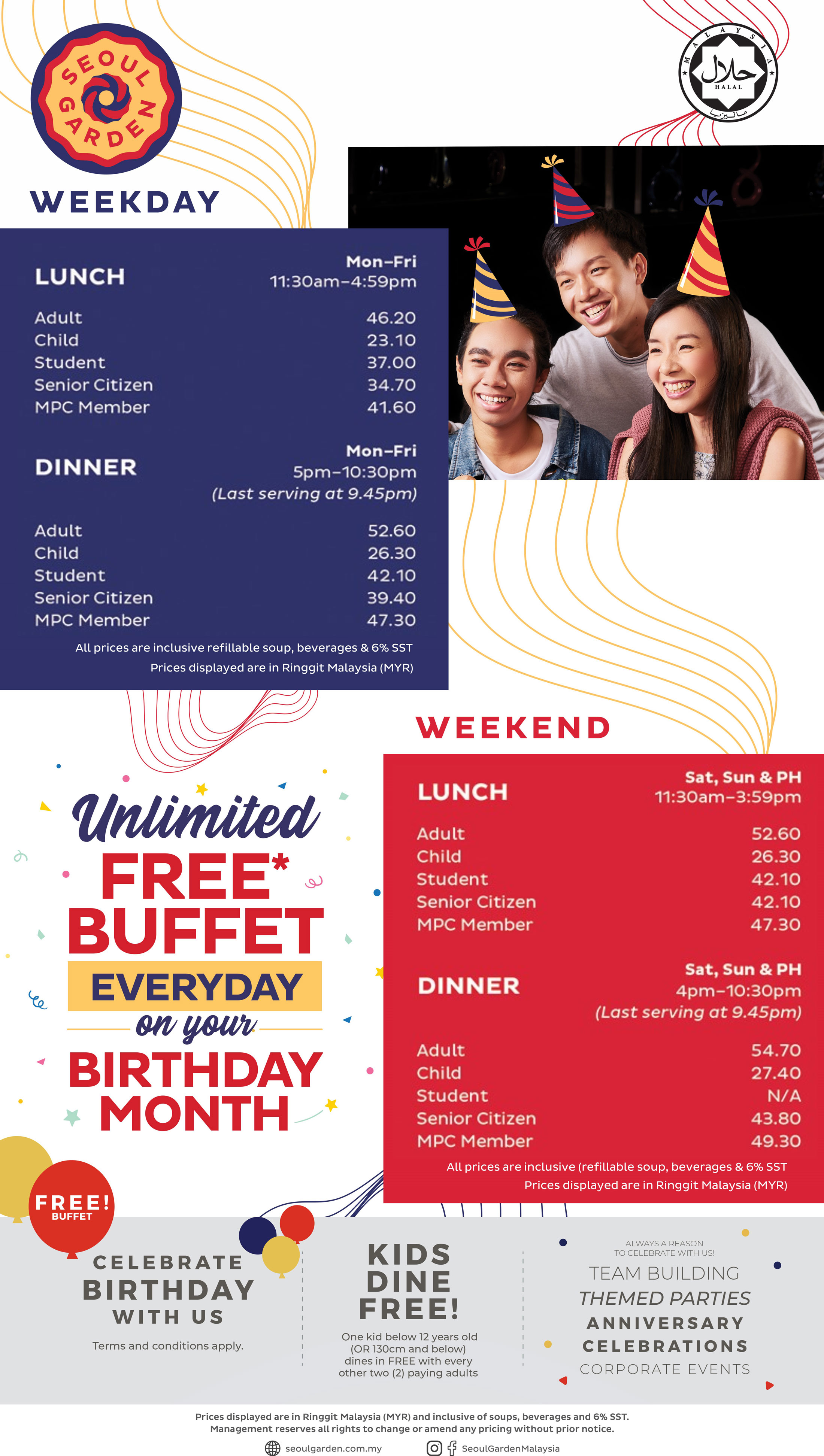 Outlets Seoul Garden Korean Asian Buffet Restaurant In Malaysia